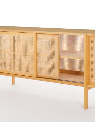 CB304 Cane Cabinet-04